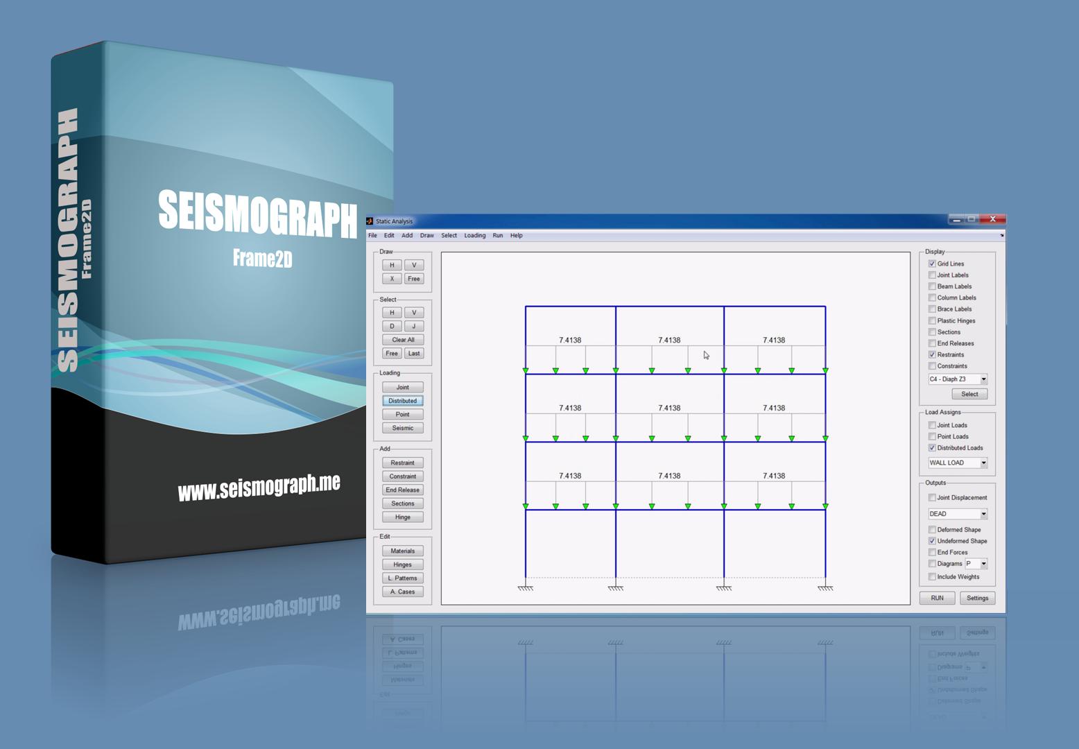 2D Frame Analysis Software