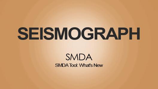 SMDA Tool: What's New