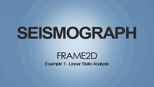 Linear Static Analysis